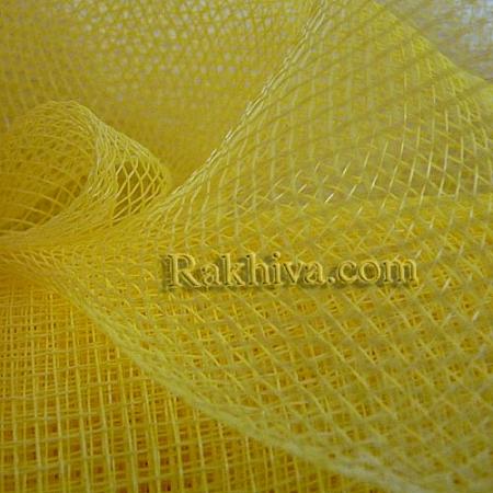 Мрежа за цветя 'Слънчеви лъчи' (Корея) на кашон, 9 ярда жълто (41/70) над 20 броя