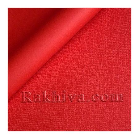 Целофан за опаковане на пакет, Насмолена червено (70/100/61180) над 50 листа
