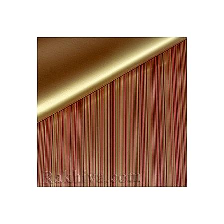 Целофан за опаковане на пакет, Елеганс бордо, злато (70/100/202086-200) над 50 листа