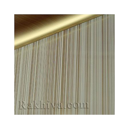 Целофан за опаковане на пакет, Елеганс злато, екрю (70/100/2020200-12) над 50 листа