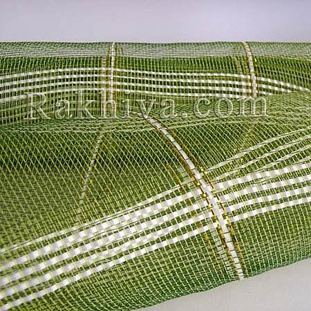 Мрежа за цветя - златни нишки, грах на кашон, ЕДРО 9 ярда грах златни нишки (43/62) над 20 броя