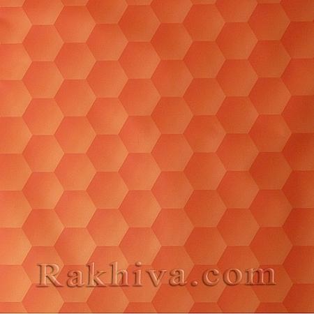Целофан за опаковане на пакет, Сладък живот оранжево (70/100/201475) над 50 листа