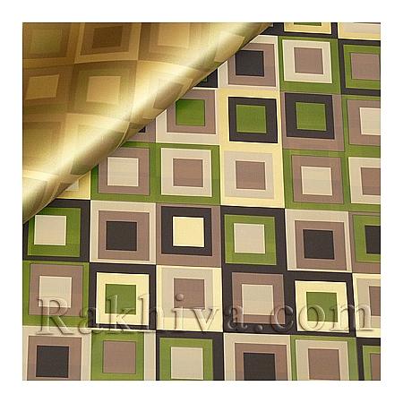 Целофан за опаковане на пакет, Шарлот злато, грах (70/100/2011200-62) над 50 листа