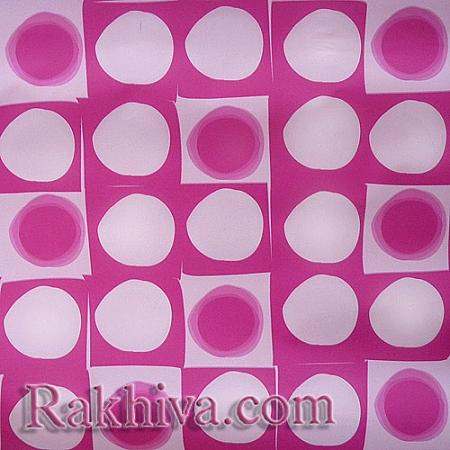 Целофан за опаковане на пакет, Арт 3 розово (70/100/131140) над 50 листа