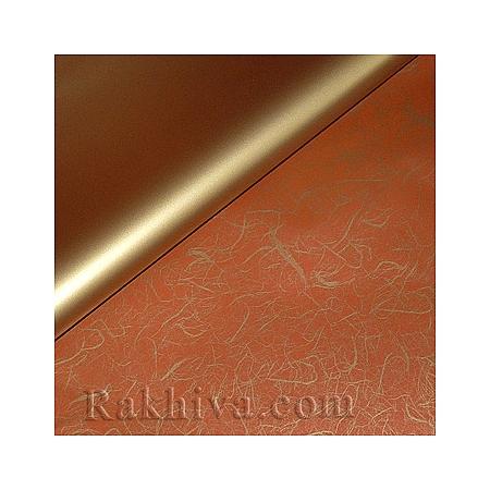 Целофан за опаковане на пакет, Идеи злато, червено (100/100/12/200-80) над 20 листа