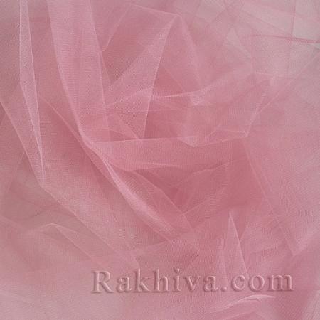 Кристален тюл на топ, розово (85/41) за 50 л.м.