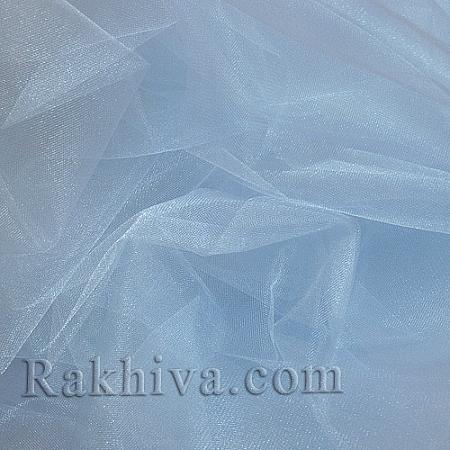 Кристален тюл на топ, небесно синьо (85/52) за 50 л.м.