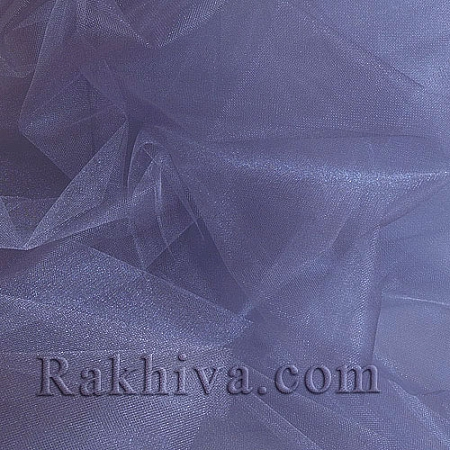 Кристален тюл на топ, светло лилаво (85/94) за 50 л.м.