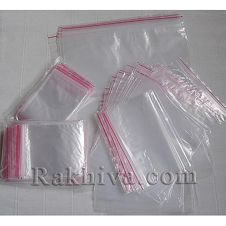 Пликове с цип на кашон, 6 см/7 см над 240 пакета