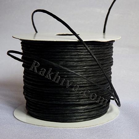 Хартиен шнур с тел на кашон, черно (2/50/6120) над 24 броя