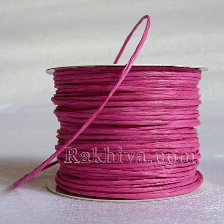 Хартиен шнур с тел на кашон, циклама (2/50/6145) над 24 броя