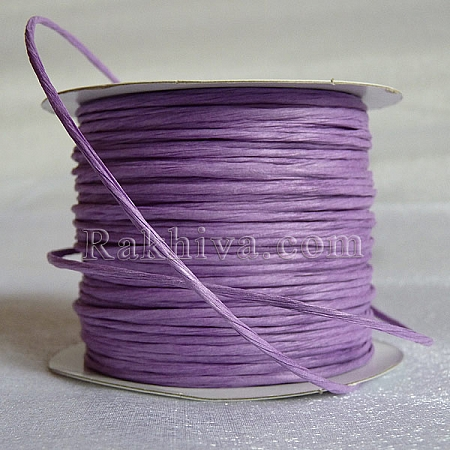 Хартиен шнур с тел на кашон, лилаво (2/50/6190) над 24 броя
