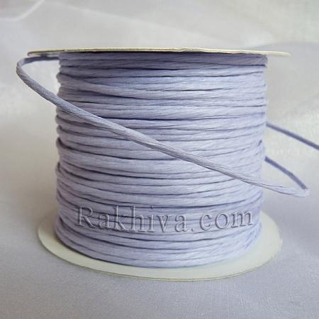 Хартиен шнур с тел на кашон, люляк (2/50/6193) над 24 броя