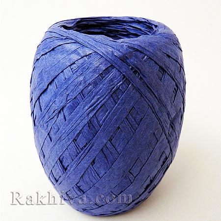 Хартиена рафия на едро, тъмно синьо (20/50/6255) над 24 броя