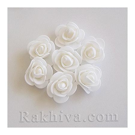 Силиконови розички на едро, бяло (3,5 см/50 броя) над 35 пакета