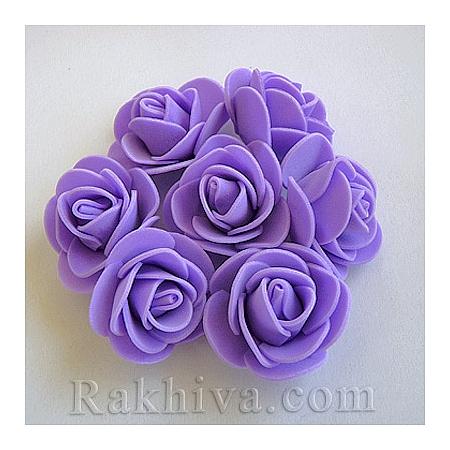 Силиконови розички на едро, лилаво (3,5 см/50 броя) над 35 пакета