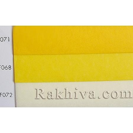 Тишу (Италия Cartotecnica rossi) НА КАШОН, F068 (жълто)