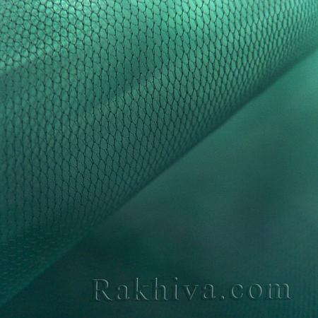 Италиански тюл цвят тъмно зелено, тъмно зелено (86/65) за 50 л.м.