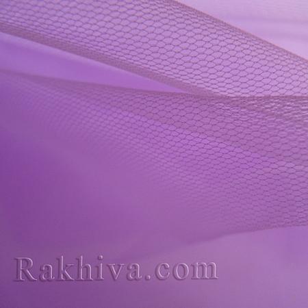 Италиански тюл цвят люляк, люляк (86/91) за 50 л.м.