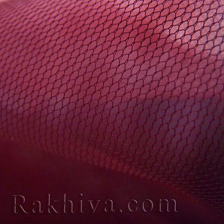 Италиански тюл цвят бордо, бордо (86/86) за 50 л.м.