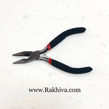 Клещи за бижута - плоско рамо, 1 бр. плоско рамо режещи