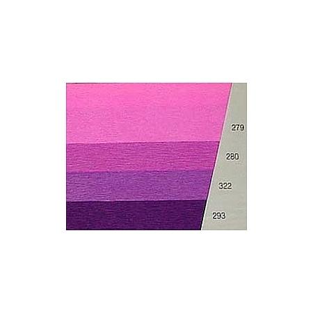 Тънка крепирана хартия 40 гр., тънк. креп. (322) - лилаво