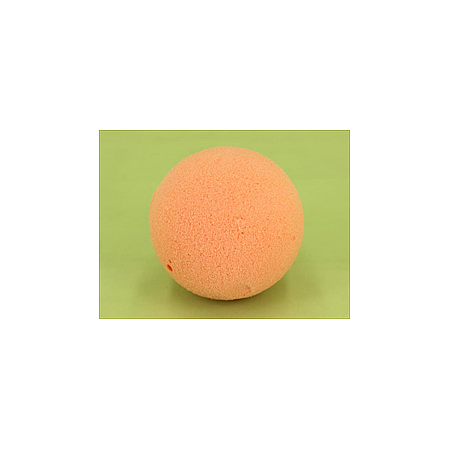 Пиафлора цветна за сухи цветя сфера оранжево, фоам, гъба за цветя OASIS, сфера оранжево 7 см Ø