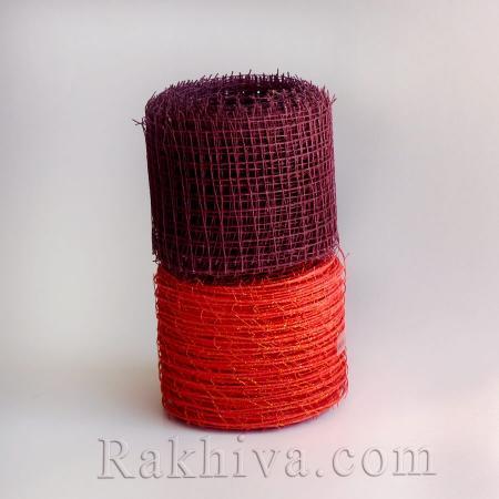 Мрежа  Ракхива  със седеф , 10 см бордо (10/10/2586)