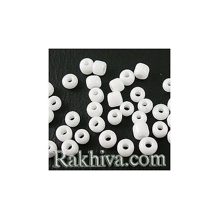 Мъниста , бяло 50гр (SDB41; A010-2mm-41)