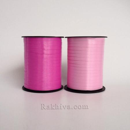 Тънки панделки за балони , 1 ролка 0.5см/ 500ярда 5/500/2845 (циклама)