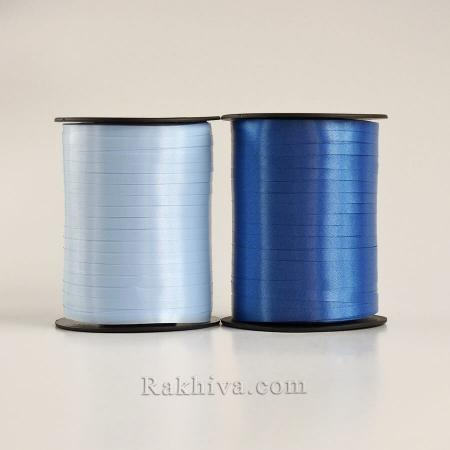 Тънки панделки за балони, 1 ролка 0.5см/ 500ярда 5/500/2855 (тъмно синьо)