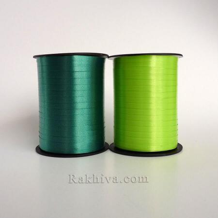 Тънки панделки за балони , 1 ролка 0.5см/ 500ярда 5/500/2861 (резеда)