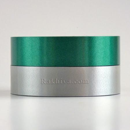 Панделки чисти цветове , 1 ролка 3см/ 100 ярда 12 3/100/28300 (сребро)