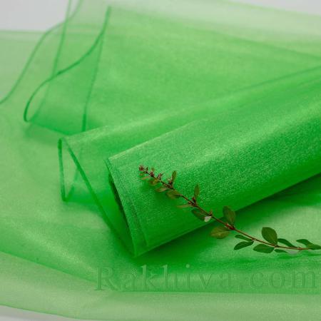 Органза зелено