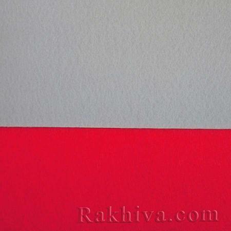 Филц за декорация и апликации, 8/ 30x30cm бяло - твърд филц