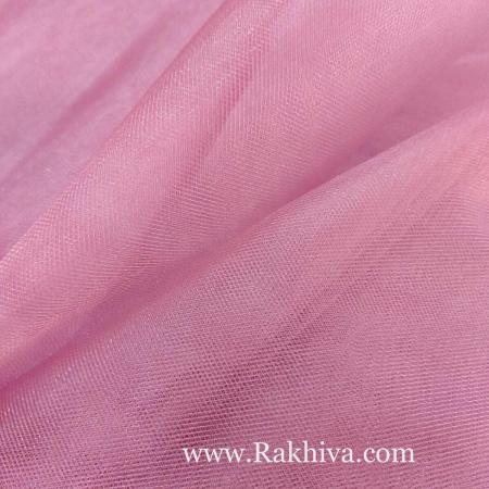 Кристален тюл, розово за 1 линеен м (3 кв. м) 85/41