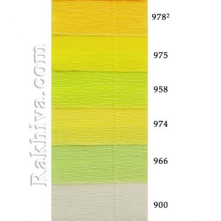 Крепирана хартия (Италия Cartotecnica rossi), 900 (бяло)