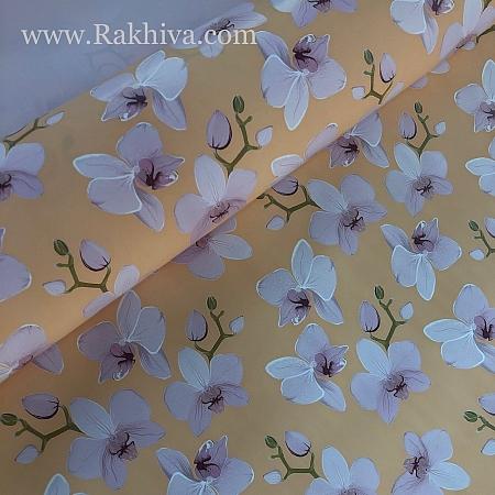 Италиански целофан Орхидея праскова, 100 см х 100 см (листи) (100/100/22/48)