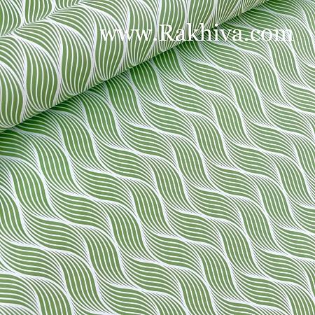 Италиански целофан Вълни зелено, св.зелено, 100 см х 100 см (листи) (100/100/17/60-61)