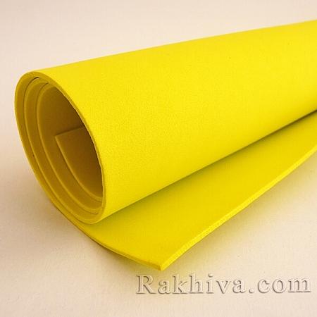 Фоам (Гумена хартия - EVA) , св. жълто
