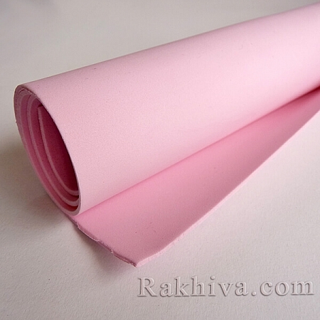 Фоам (Гумена хартия - EVA) , св. розово 1 мм