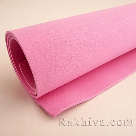 Фоам (Гумена хартия - EVA) , розово