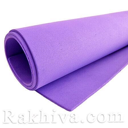Фоам (Гумена хартия - EVA) , т. лилаво 1 мм