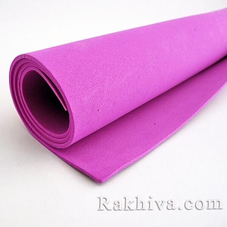 Фоам (Гумена хартия - EVA), тъмно розово