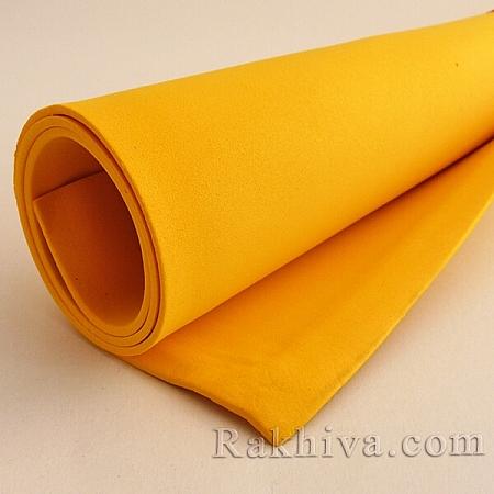 Фоам (Гумена хартия - EVA) , патешко жълто