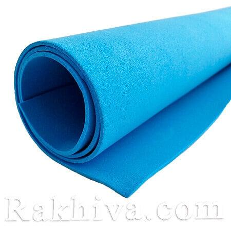Фоам (Гумена хартия - EVA) , морско синьо 1 мм