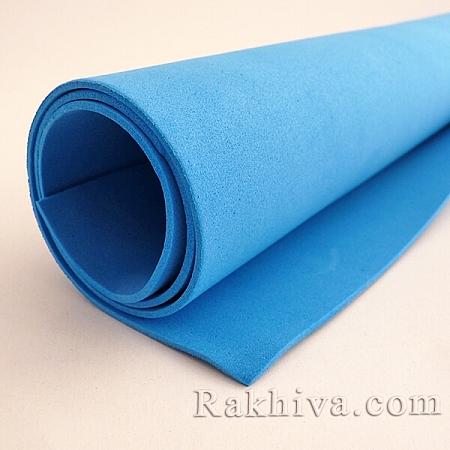 Фоам (Гумена хартия - EVA) , морско синьо