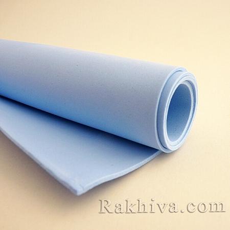 Фоам (Гумена хартия - EVA), светло синьо