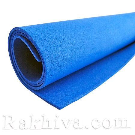 Фоам (Гумена хартия - EVA) , тъмно синьо 1 мм