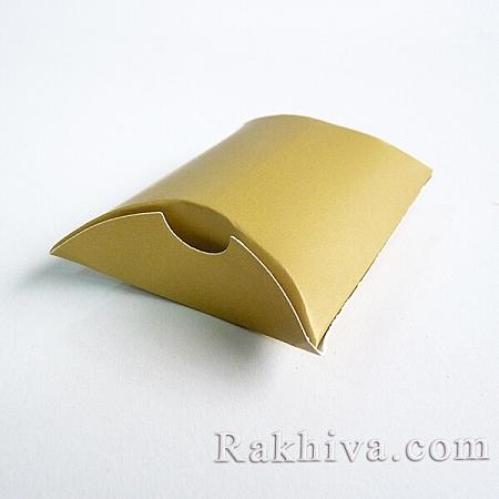 Малки кутийки за подаръчета злато мат, злато мат 1 бр., 90x65x24mm